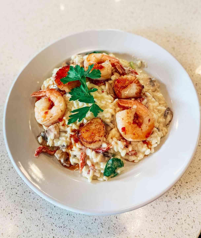 Scallop & Shrimp Risotto