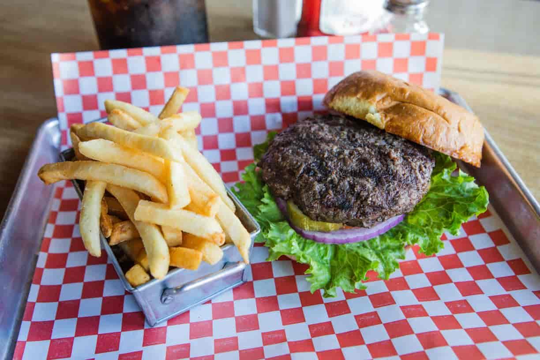 Bull Pen Burger