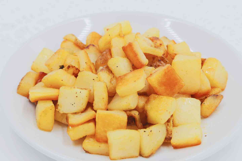 Pan-Fried Rosemary Potatoes