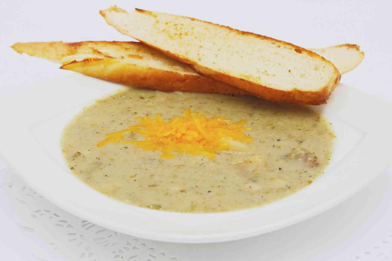 Green Chile Potato Soup