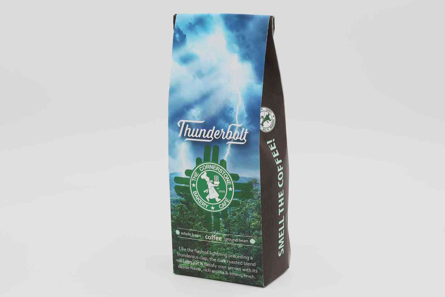 Ground Thunderbolt Coffee