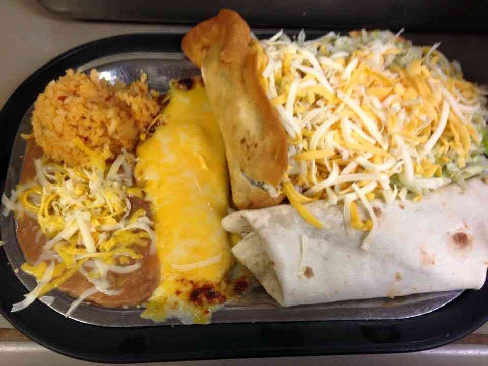 MEXICAN COMBO PLATE #2