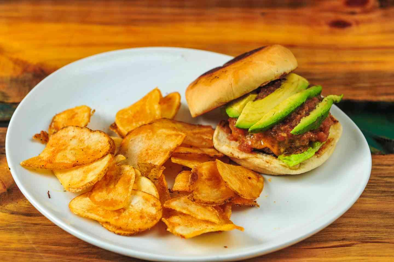 Scratch Salsa Burger