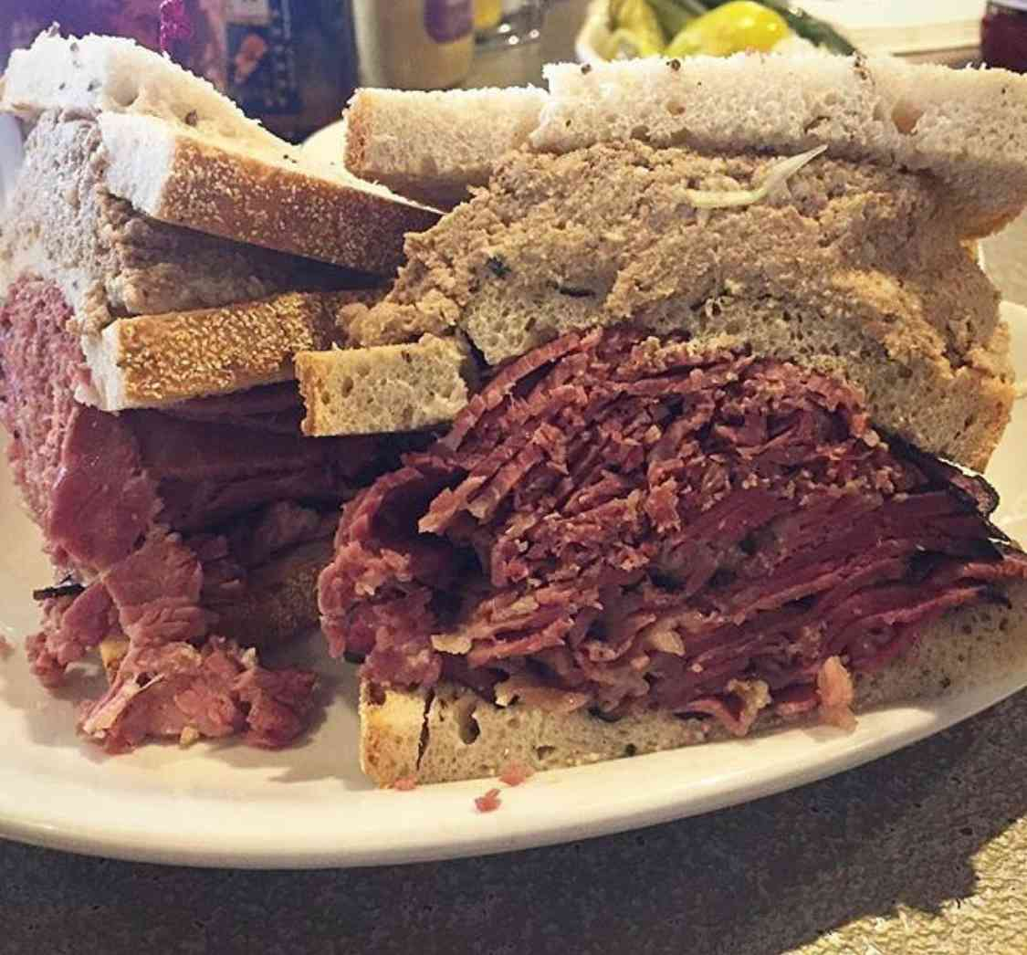 2. Corned beef, pastrami, and chopped liver