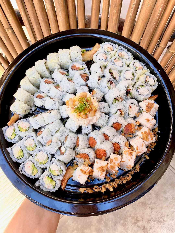 Maki cut Roll Tray