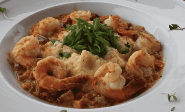 Shrimp & Jalapeno Smoked Gouda Grits