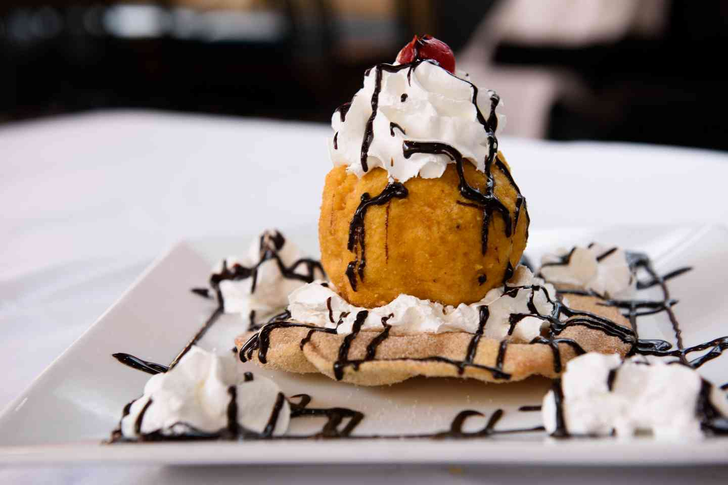 Mexican Fried Iced Cream