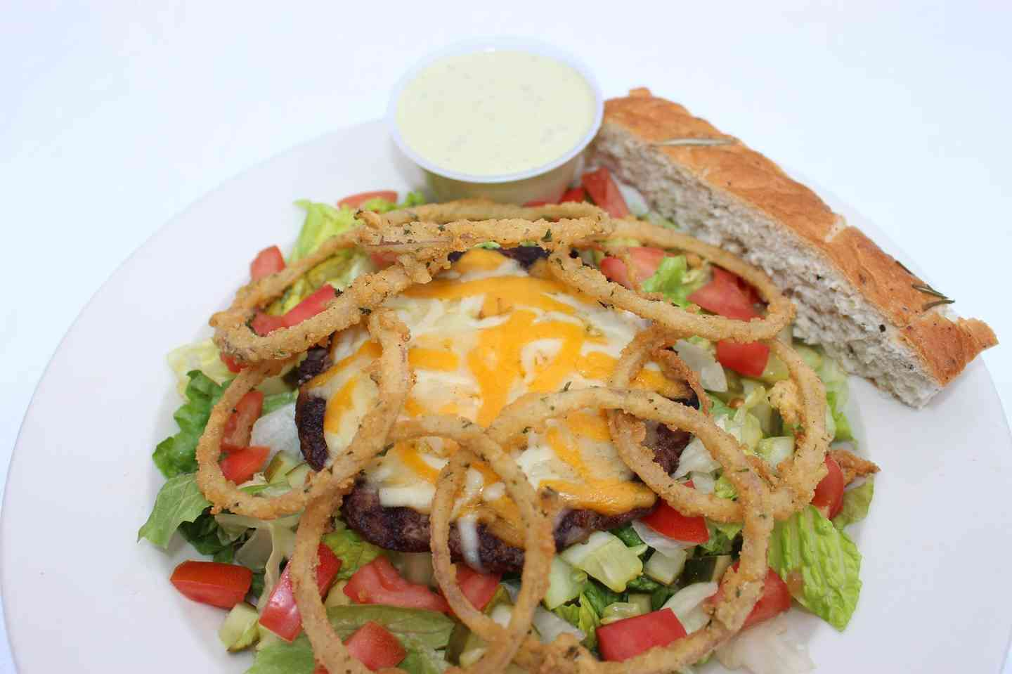 Cheeseburger in Paradise Salad