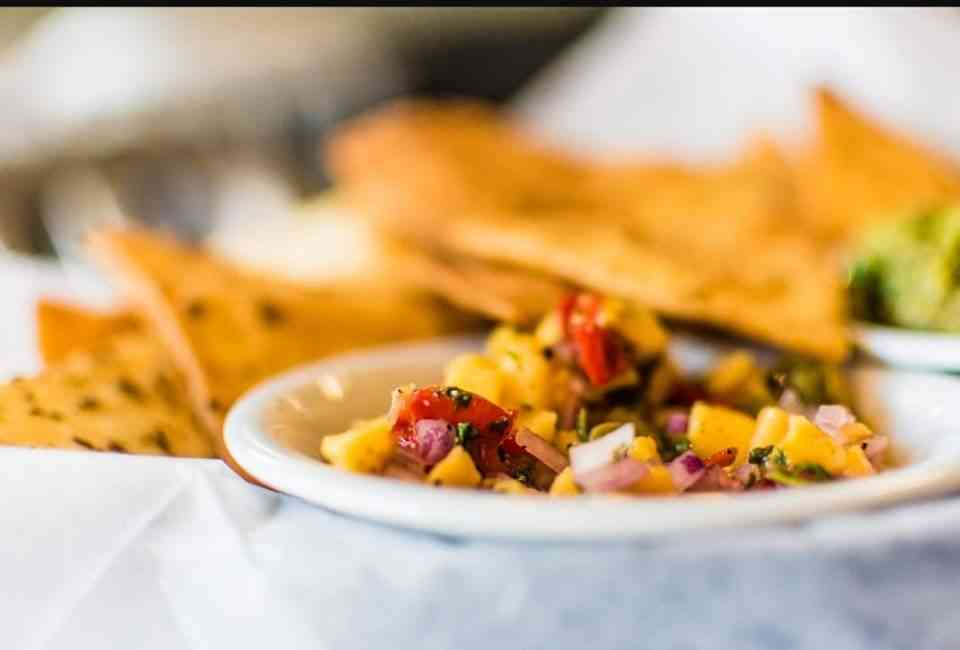 Guacamole with Chips & Salsa