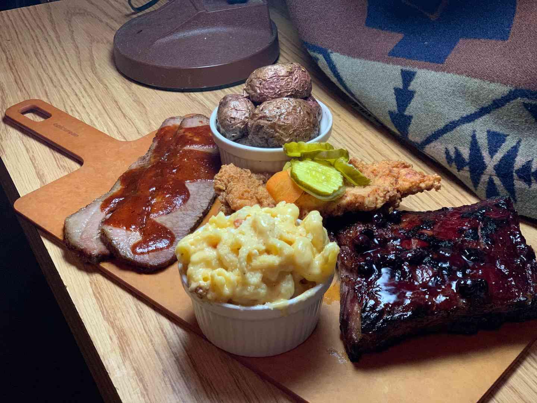 trifecta barbecue board