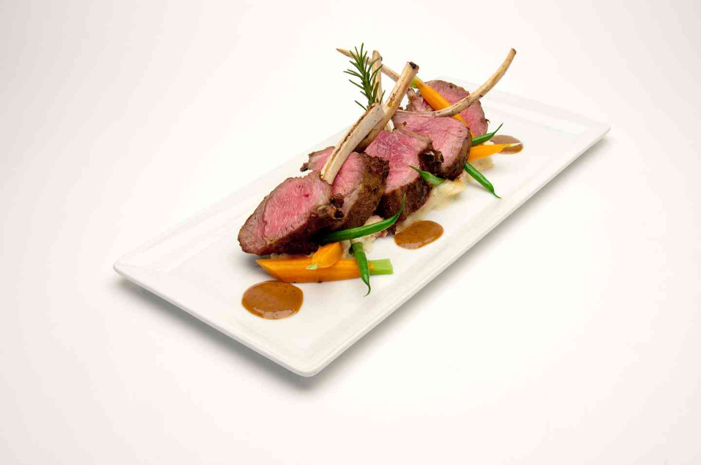 Oven Roasted Rack of Lamb