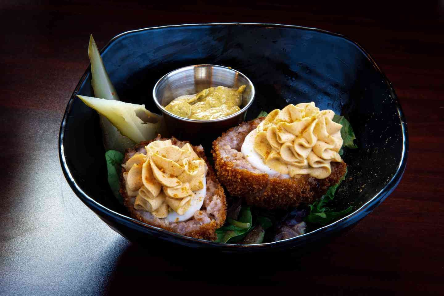 Deviled Scotch Egg