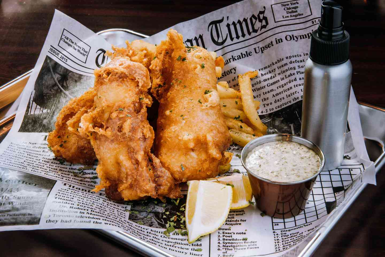 Fish n' Chips or Shrimp n' Chips