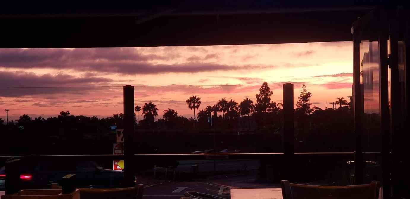 Sunsets at the OC Tavern