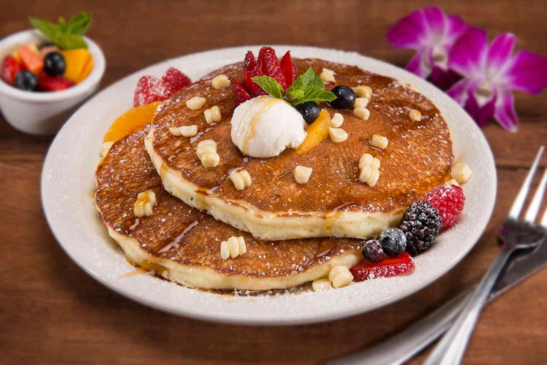 Gluten-Free White Corn Pancakes