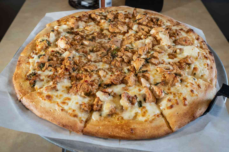 thai pizza