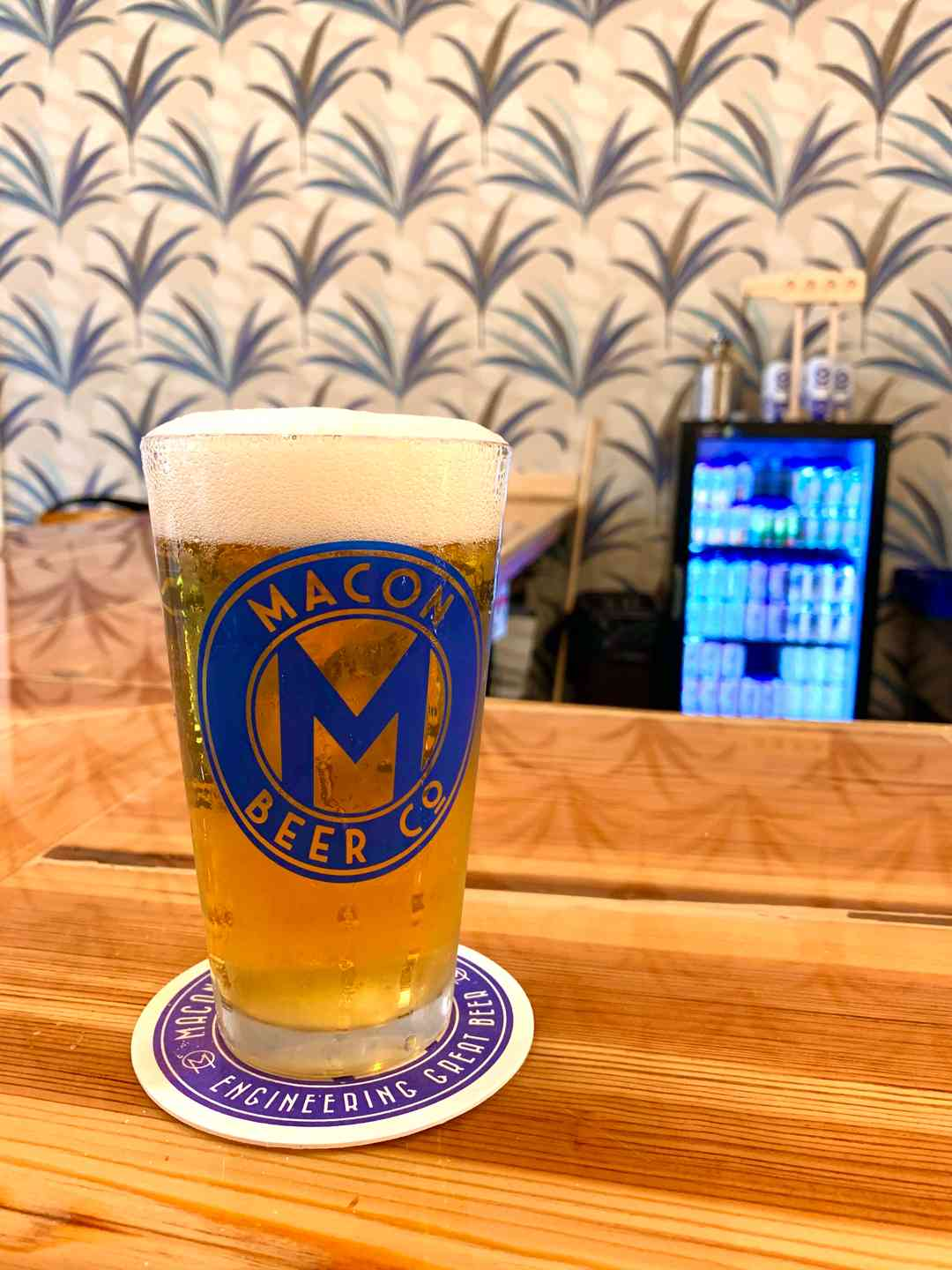 Macon Dreams 5% (Peach Blonde Ale)
