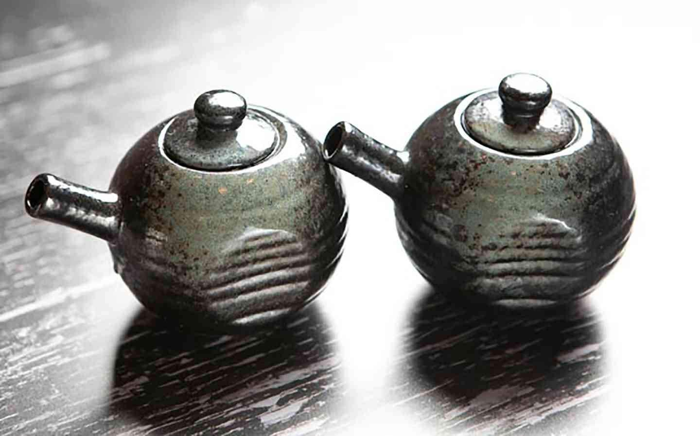 Two small kettles