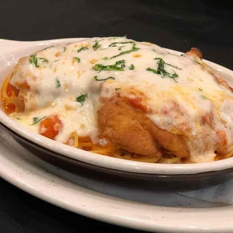 Chicken or Eggplant Parmesan
