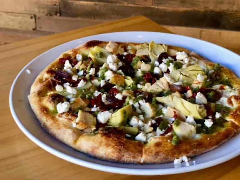 Mediterranean Fuze Pizza
