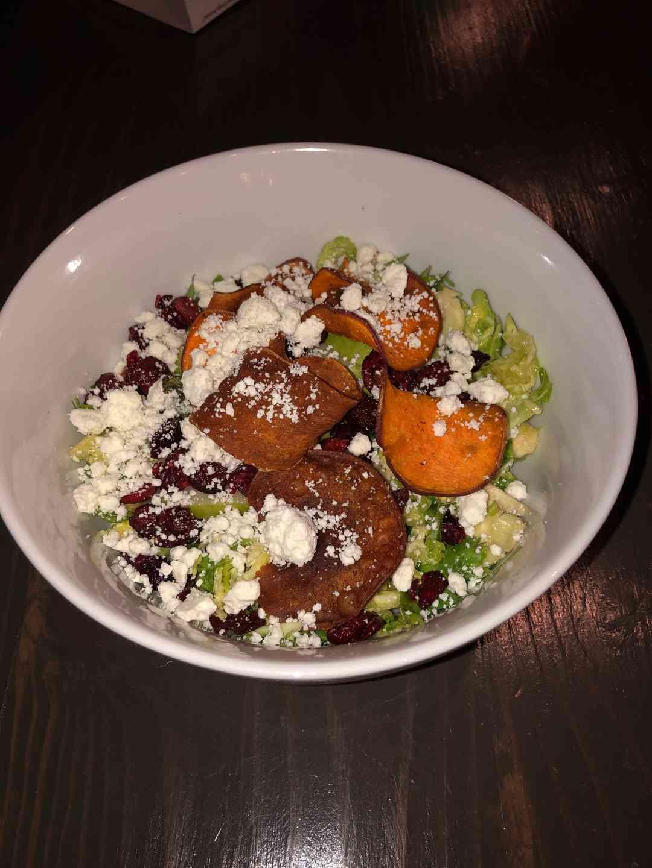 Pear Brussel Salad