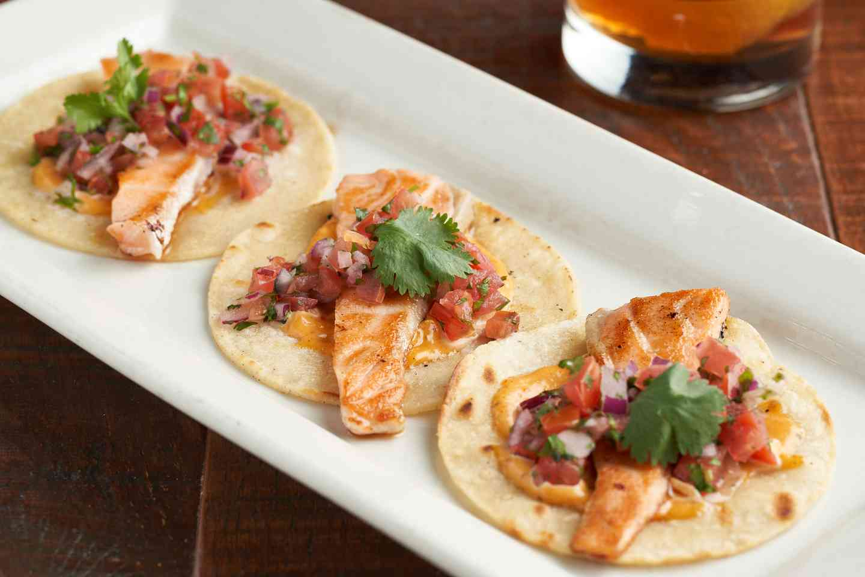 Salmon Tacos*
