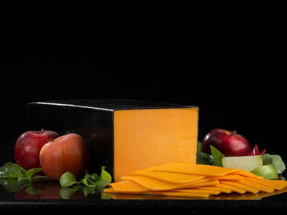 Black Wax Cheddar Cheese