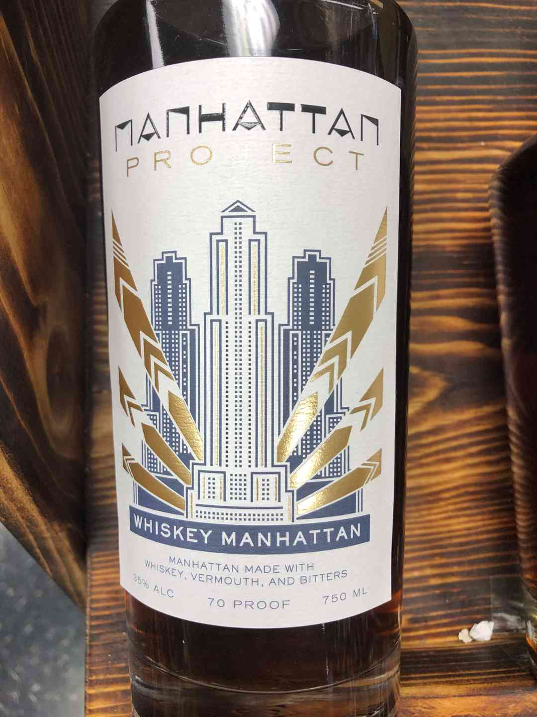 Manhattan Project Whiskey Manhattan