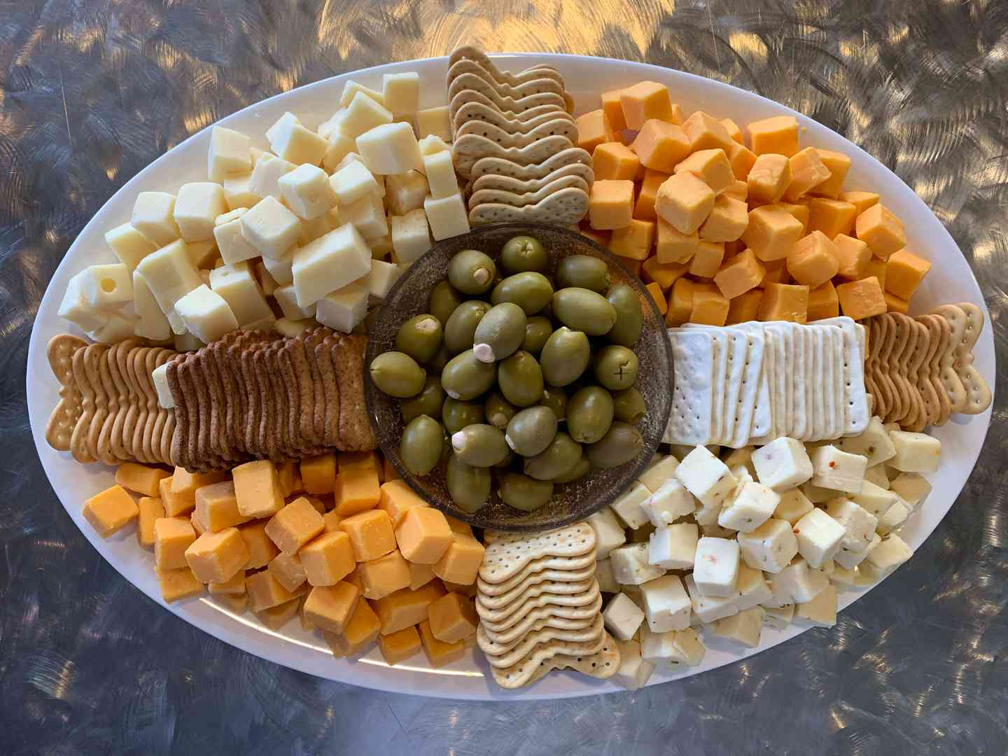 Cheese and Cracker Plate