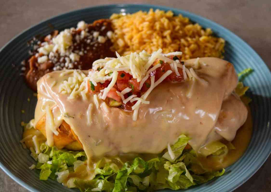 $10 Chimichanga