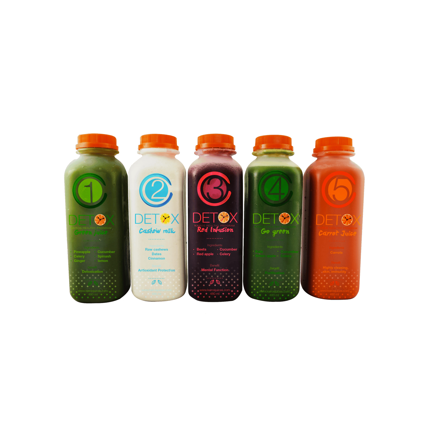 5 Juices a Day