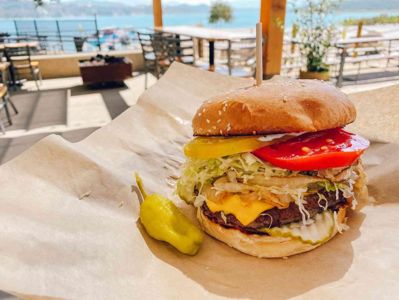 Classic Cachuma Burger