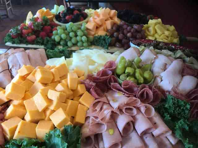 Antipasta and Fruit