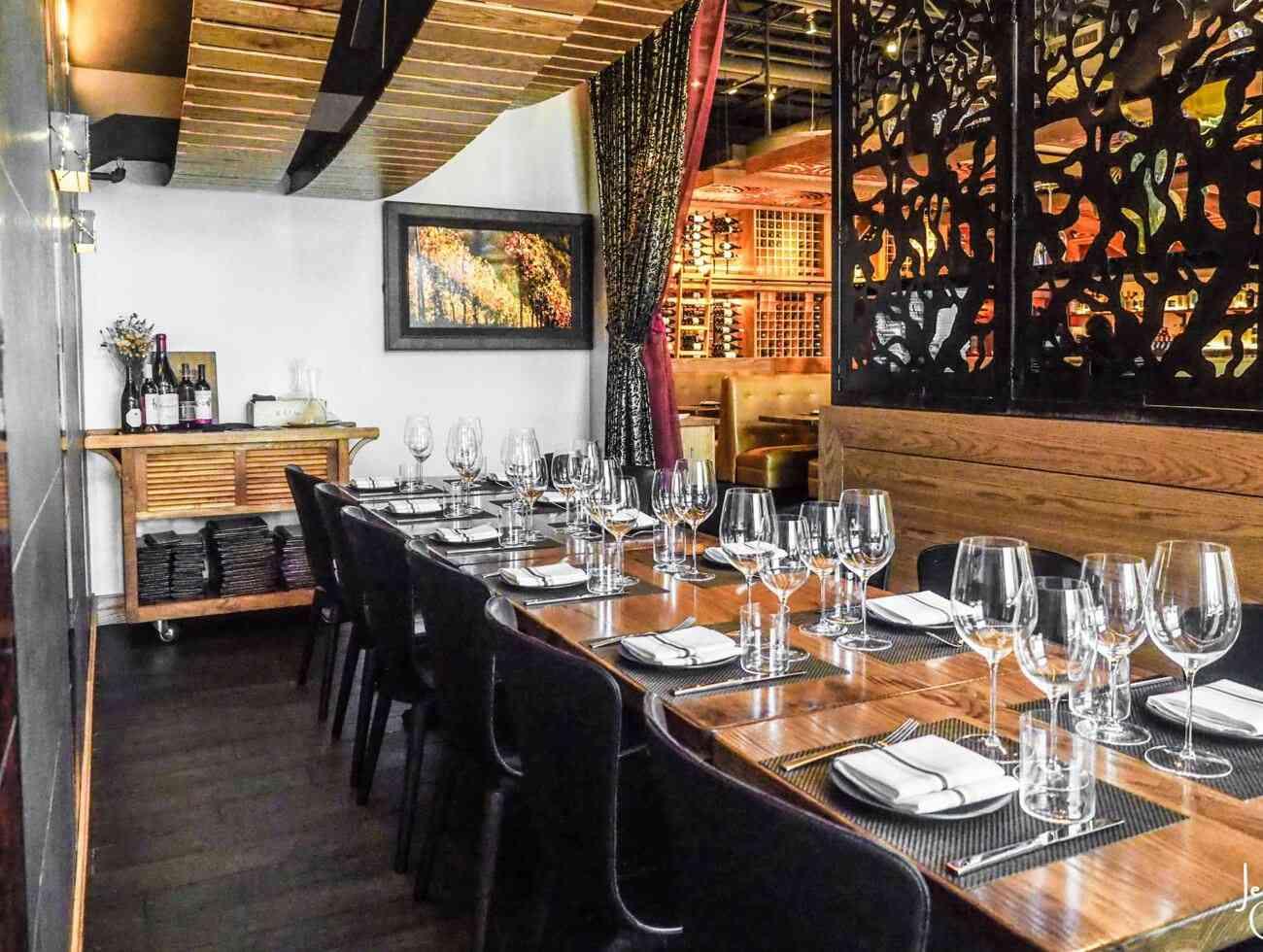 the vineyard room
