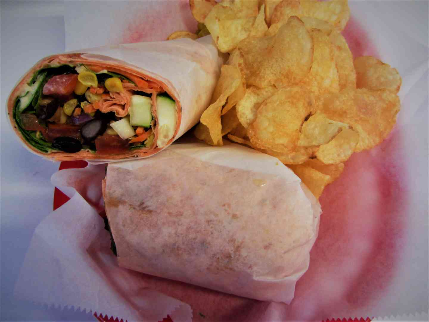 California Chicken Wrap