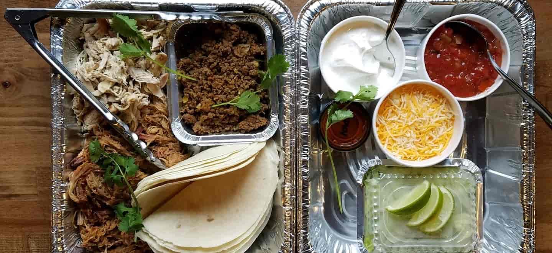 Meat Taco Tray