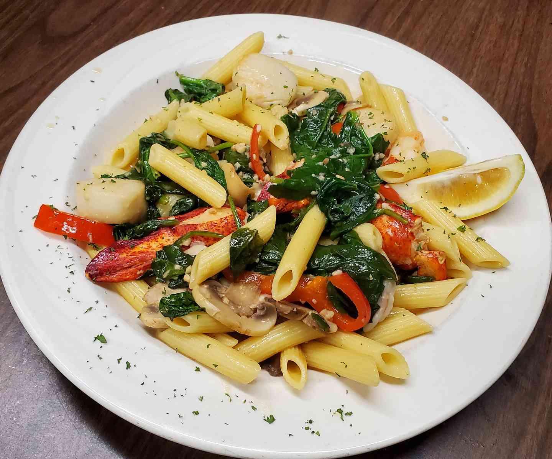 Seafood Florentine