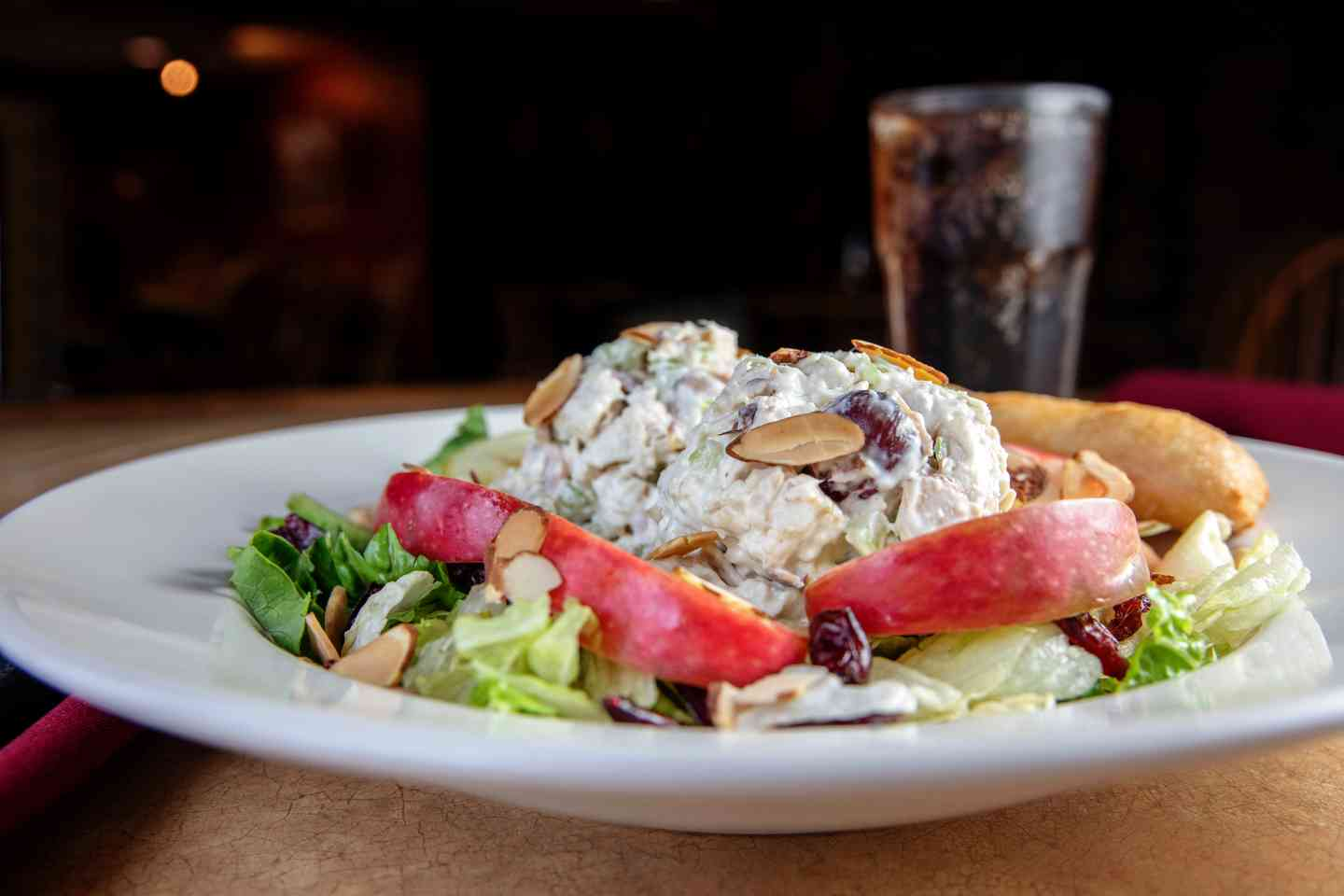 Apple Nutty Chicken Salad