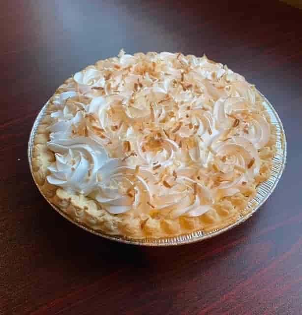 """9"""" Pie Coconut Cream"""