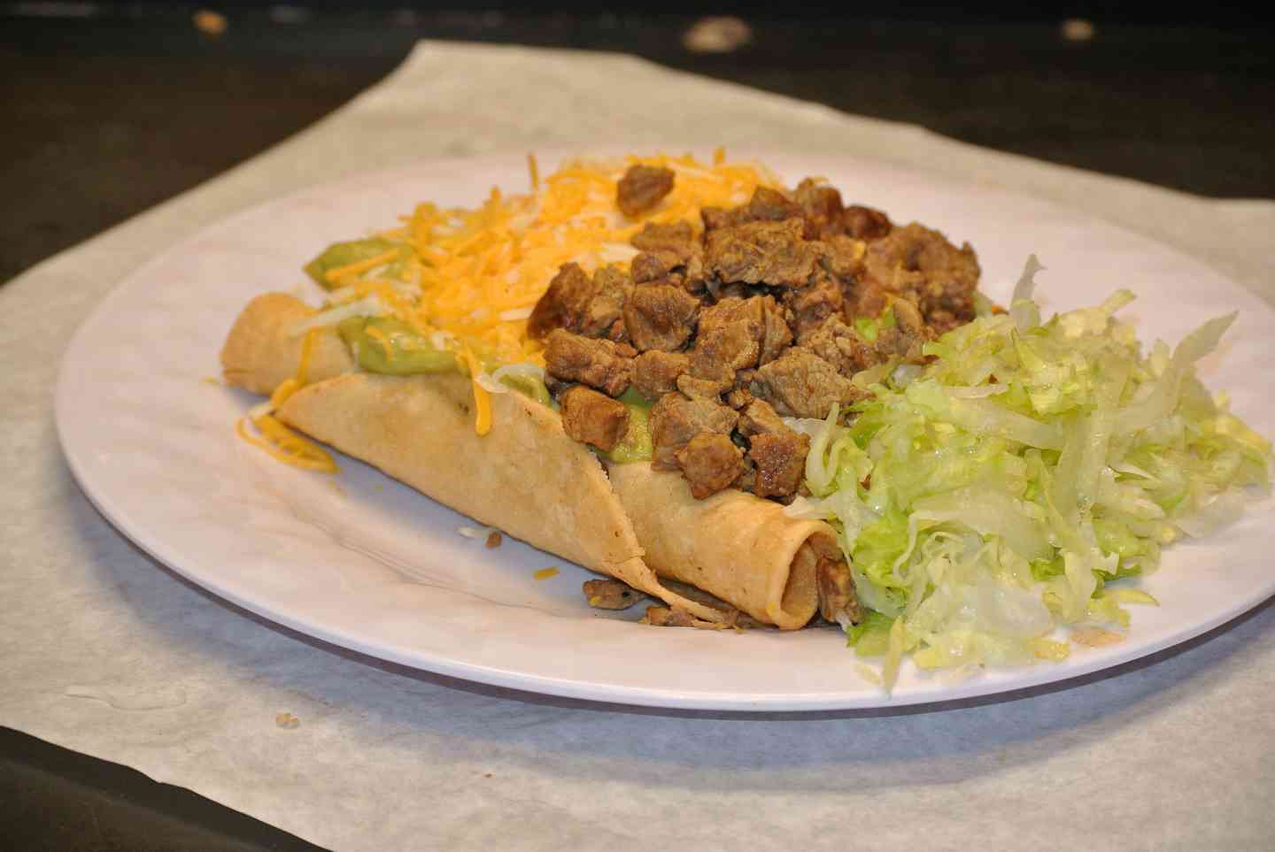 5 Rolled Tacos with Carne Asada
