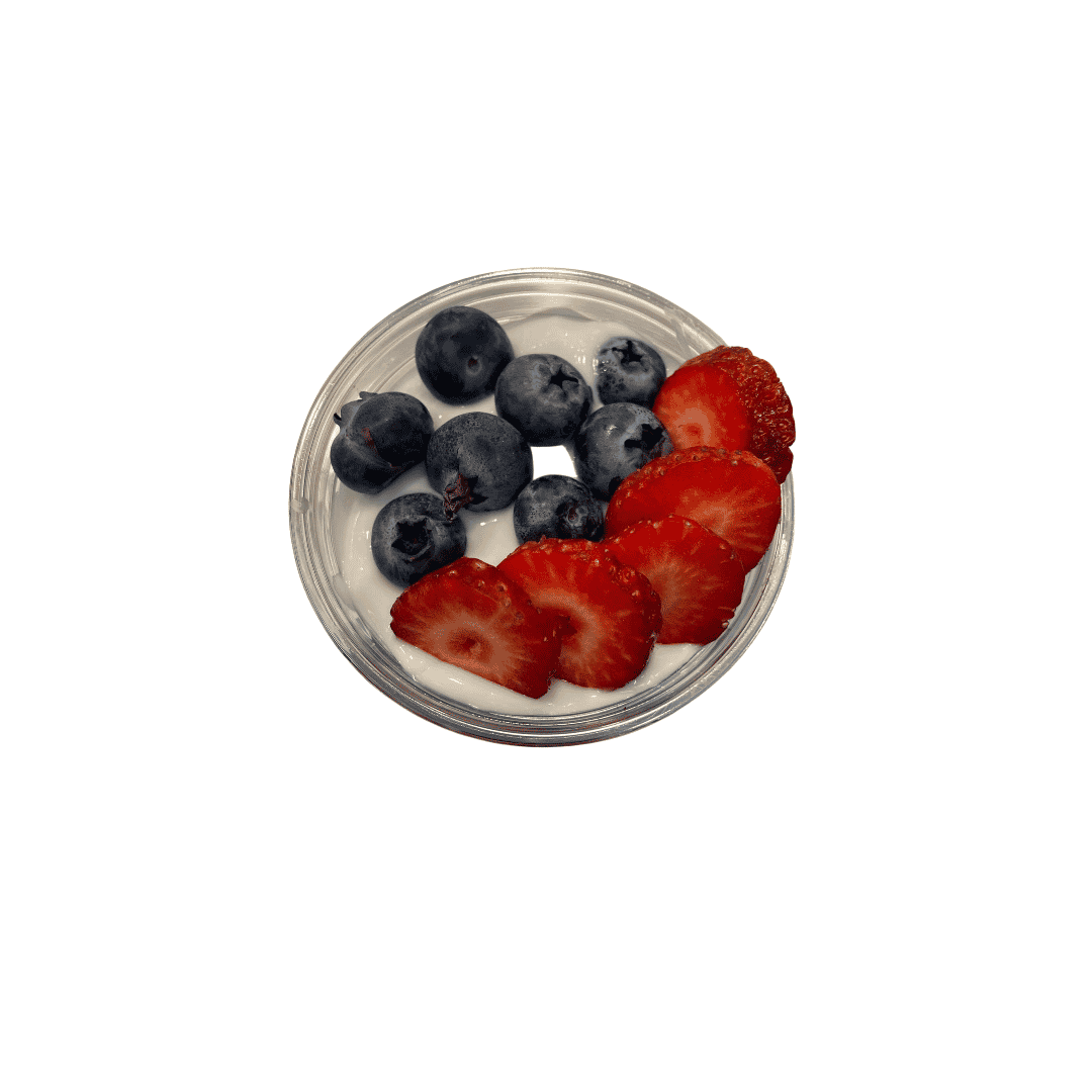 Strawberry & Blueberry Parfait