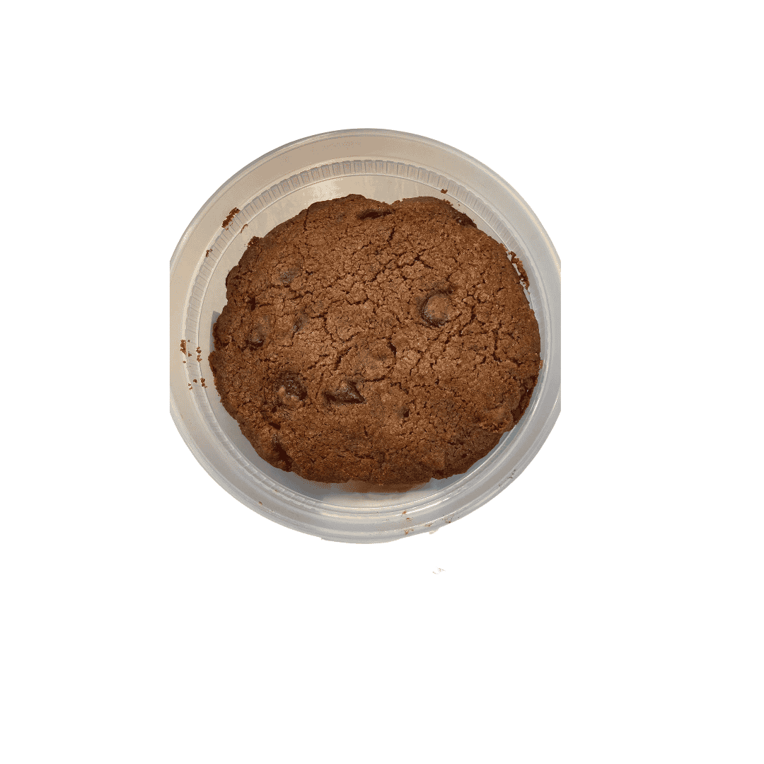 Flourless Chocolate Chip Cookie