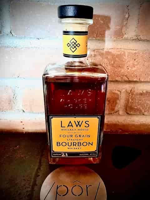 Laws Four Grain Straight Bourbon