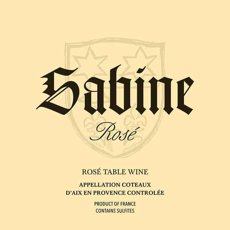 2018 SABINE, ROSÉ