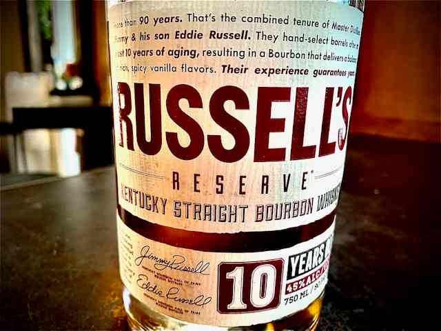 Russel's Reserve 10yr Bourbon