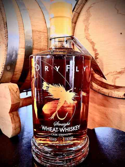 Dry Fly Cask Strength Straight Wheat Whis