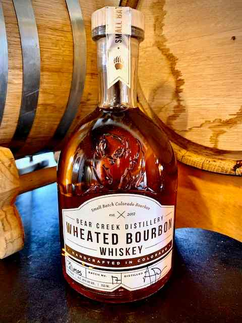 Bear Creek Wheated Bourbon Whiskey