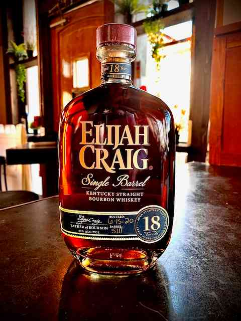 Elijah Craig 18yr Single Barrel