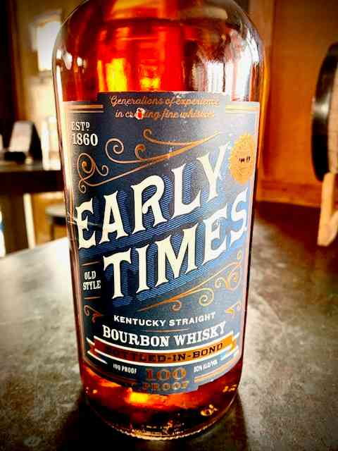 Early Times Bottled-in-Bond
