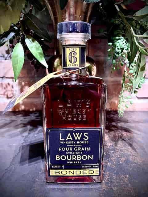 Laws Four Grain Straight Bourbon 6 yr Bottled-in-Bond